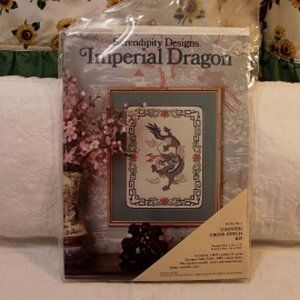 SERENDIPITY DESIGNS Counted Cross  Imperial Dragon